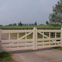 horse gates wood - Google Search