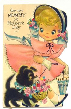 Retro Greeting Card Mother's Day