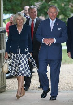 Prince Charles, Prince of Wales and Camilla, Duchess of Cornwall attend a music in Country Churches concert on July 30, 2013 in Salle, United Kingdom.