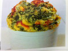 Emagrecendo Receitas: Sufle de Espinafre