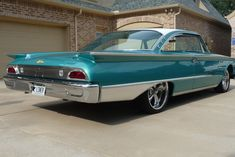 1960 Ford Starliner - Completely restored. Has all of our moldings available, installed.