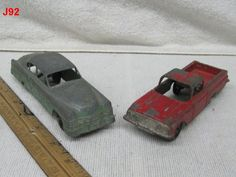 VINTAGE TOOTSIETOY DIECAST TOY CAR LOT SET AUTO CHEVY EL CAMINO CHRYSLER HOT ROD!!!!!  ON AUCTION THIS WEEK!!!!!