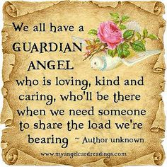 We all have guardian angels