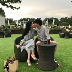 something special ♡ Ulzzang Couple, Ulzzang Girl, Korean Ulzzang, Korean Couple, Korean Girl, Perfect Couple Pictures, Fall In Luv, Asian Love, Hot Couples