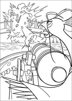 Kung Fu Panda Tegninger til Farvelægning. Printbare Farvelægning for børn. Tegninger til udskriv og farve nº 11