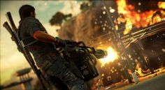 Avalanche Studios and Square Enix were not kidding, when they promised more explosions in their upcoming open-world action adventure, Just Cause 3.