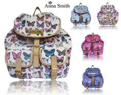 ANNA SMITH BUTTERFLY PRINT RUCKSACK