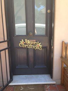 Merrychristmas wreath..