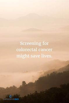 Screening for colorectal #cancer might save lives.It dropped about 30% in US due to more colonoscopies in 10 yrs.