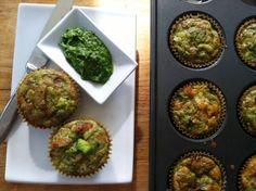 Basil Egg Muffins_Nourish Paleo Foods