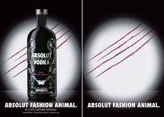 Absolut fashion animal.