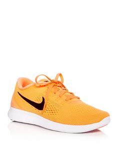 Nike Women  Free Run Natural Lace Up Sneakers