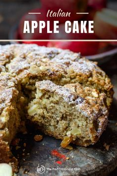 This is the perfect cake to make for your Thanksgiving or Christmas celebration this year. Packed with flavor and easy to make, it will be a hit for sure! #holidaybaking #thanksgivingdessert #christmasdessert #applecake Easy Mediterranean Recipes, Mediterranean Breakfast, Mediterranean Dishes, Just Desserts, Dessert Recipes, Italian Olives, Olive Oil Cake, Apple Cake, Everyday Food