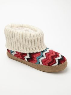 Macaroon Slippers (we adore chevron prints!)