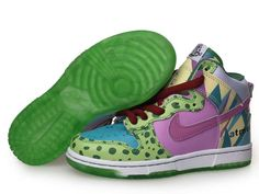 Nike Dunk High Shoes-Cheap Kid's Nike Dunk High Shoes Light Green/Pink/Light Blue/White For Sale from official Nike Shop. Jordan Shoes For Kids, Michael Jordan Shoes, Air Jordan Shoes, Nike Shoes Online, Discount Nike Shoes, New Jordans Shoes, Kids Jordans, Nike Dunks, High Shoes