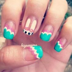 Adorable Easter Nail Art Examples Don't you get bored of the dark shades of winter? Spring is already here and everyone's started to refresh themselves with the arrival of new season. So why not pl…