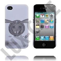 Classic Sketch (Bunny) iPhone 4S Deksel
