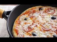 Pizza sin Horno Rápida y Sencilla - YouTube