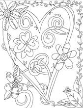 Let Doodle Coloring Pages | The benefits of coloring are endless...