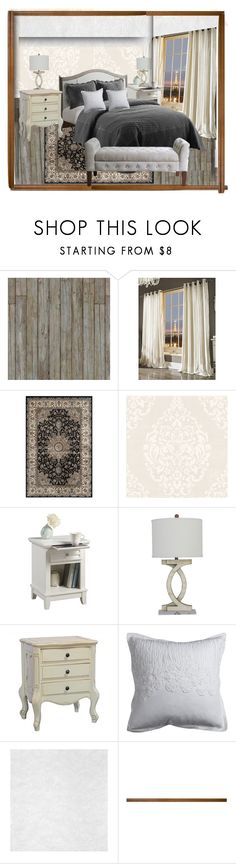 """VCNY Bedding"" by rpsounos ❤ liked on Polyvore featuring interior, interiors, interior design, home, home decor, interior decorating, Piet Hein Eek, Kylie Minogue, Safavieh and Bellini"