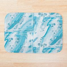 Blue Bath Mat, Cotton Tote Bags, My Arts, Art Prints, Printed, Canvas, Abstract, Awesome, Creative