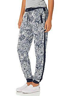 be3744c2a8d4 KangaROOS Paisley Printed Sweat Pants Printed Trousers, Kangaroos, Sweat  Pants, Trousers Women,