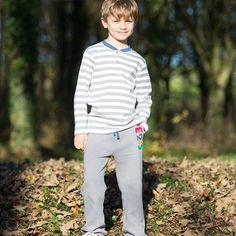 Kite ecologisch granddad shirt   www.EKOdePEKO.nl = bio + eerlijke + duurzame kinderkleding