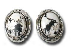 White Buffalo Earrings - Earrings - Jewelry - Southwest Indian Foundation Navajo Jewelry, Southwest Jewelry, Help The Poor, Navajo Nation, Nativity Crafts, Make A Donation, White Stone, Stone Earrings, Buffalo