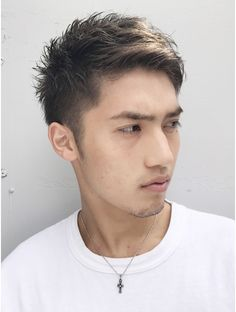 Mens Hairstyles Fade, Trendy Mens Haircuts, Undercut Hairstyles, Asian Man Haircut, Asian Men Hairstyle, Medium Hair Cuts, Medium Hair Styles, Long Curly Haircuts, Long Hair Highlights