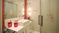 fotos de decoração de banheiros pequenos