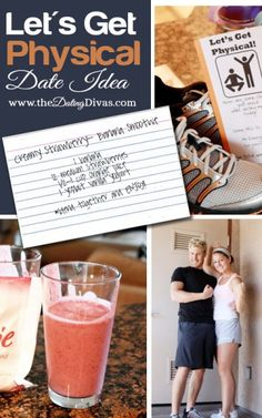 Look for a fun AND healthy date night?  Check out this fun ideas that will get your heart pumping. www.TheDatingDivas.com #datenight #dateidea #thedatingdivas