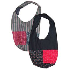 """Chapan Shoulder Bags from Afghanistan   Measures: 9-3/4 high x 9 wide x 6 deep with a 19"""" drop length"""