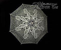 """Зонт """"Лучик"""" Crochet umbrella"""