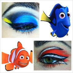 Dory and Marlin!! Love the Dory <3