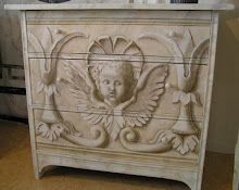 Simply stunning! Need this in our master suite ~ cherubs are the inspiration