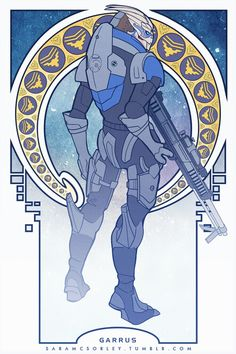 Garrus Vakarian, the biggest badass in the Mass Effect universe!