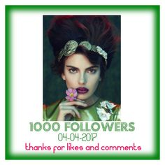 """""""1000 Followers! Thank you!"""" by lheijl ❤ liked on Polyvore featuring Behance"""
