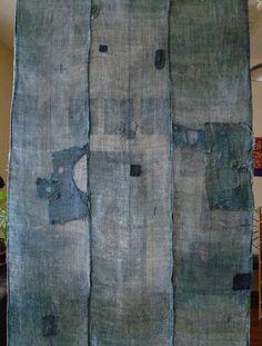 A Fantastically Good Boro Kaya: Rustic Hemp or Ramie Mosquito Netting | SRI Threads