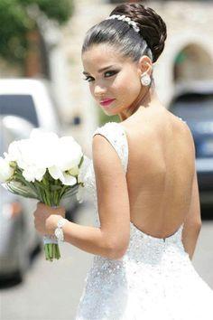 African American. Black Bride. Wedding Hair. Natural Hairstyles. :)