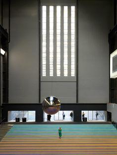Superflex install dozens of swings at Tate Modern to combat social apathy Turbine Hall, Swing Design, Jesus Christ Superstar, Hall Design, Atrium, Installation Art, Blinds, Architecture, Modern