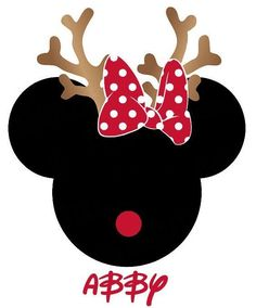 Disney Mickey Minnie Mouse Christmas Personalized T Shirt Iron on Transfer Mickey Mouse Shirts, Mickey Shirt, Mickey Mouse Kunst, Minnie Mouse Stickers, Mickey E Minie, Disney Mickey, Christmas Clipart, Christmas Crafts, Minnie Mouse Christmas