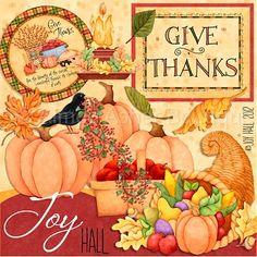 Give Thanks, Joy Hall