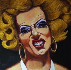 Marilyn Manroe Acrylic on canvas  Size 30 x 30cm  ©copyright protected