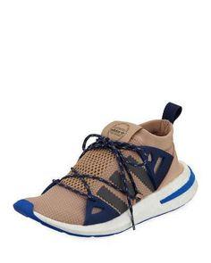 new style 5fd1f c0775 adidas Arkyn Colorblock Mesh Sneaker, AshPearl Gray Grey Sneakers, Sneakers  Fashion,