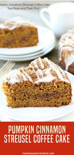Pumpkin coffee cake