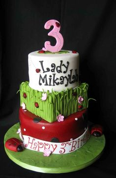 Lady Bug Birthday  @http://cakecentral.com