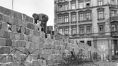 mur de Berlin 1961