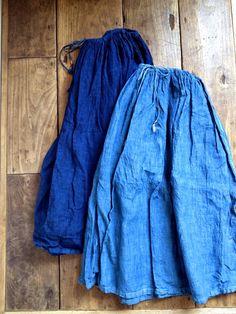 マキマロ++藍染め
