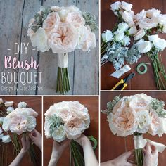 11 Best Silk Flower Bouquet Diy Images Wedding Bouquet Wedding