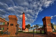 Ponce Inlet lighthouse offers panoramic views of Daytona Beach Places In Florida, Visit Florida, Florida Vacation, Florida Travel, Daytona Beach Florida, Destin Beach, Vacation Destinations, Vacation Trips, Vacations